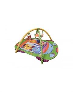 Развивающий коврик c игрушками и зеркалом Машинка Alis