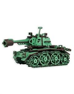 Сборная модель Танк хаки Эlen toys