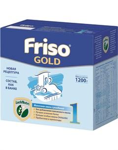 Сухая молочная смесь Gold 1 LockNutri 1200гр Friso