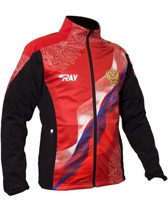 Куртка Беговая 2018 19 Pro Race Принт Красный Флаг Рф Ray артикул 3BB36A43 в интернет-магазине Elemor.ru