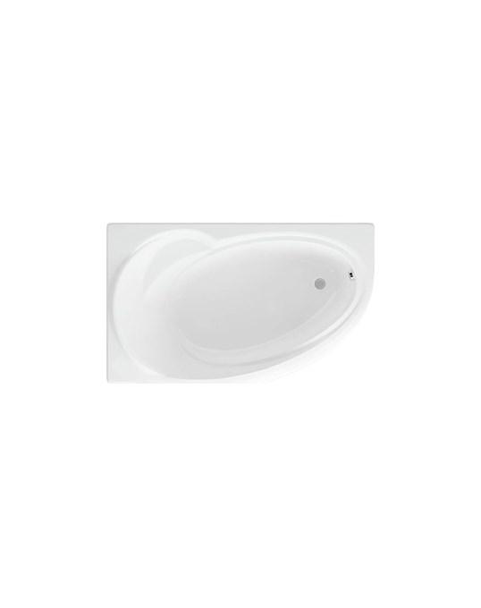 Акриловая ванна Бетта 150х95 левая фронтальная панель каркас слив перелив BET150 0000067 Aquatek - 0